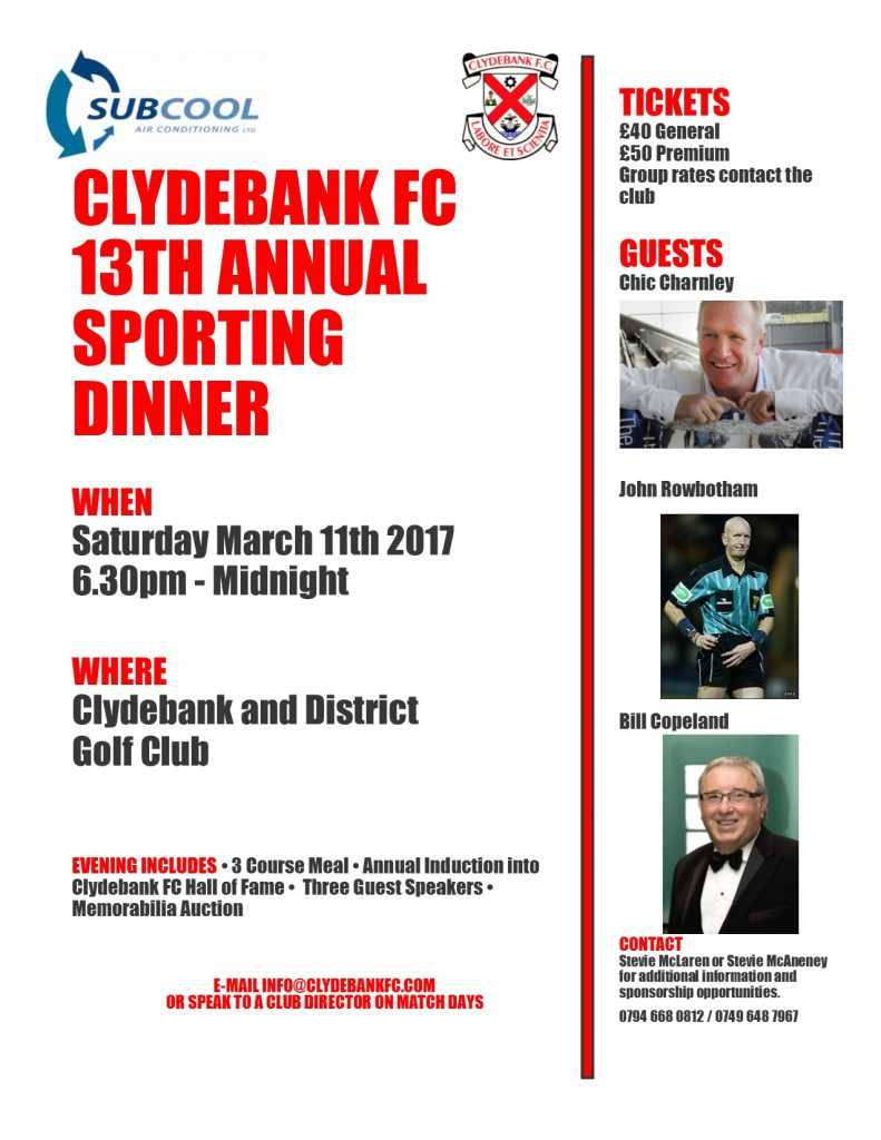 sports dinner 2017 with sponsor