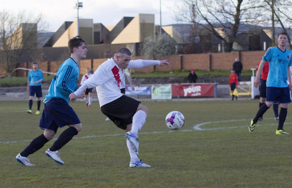Mark Burbidge makes it three for Bankies